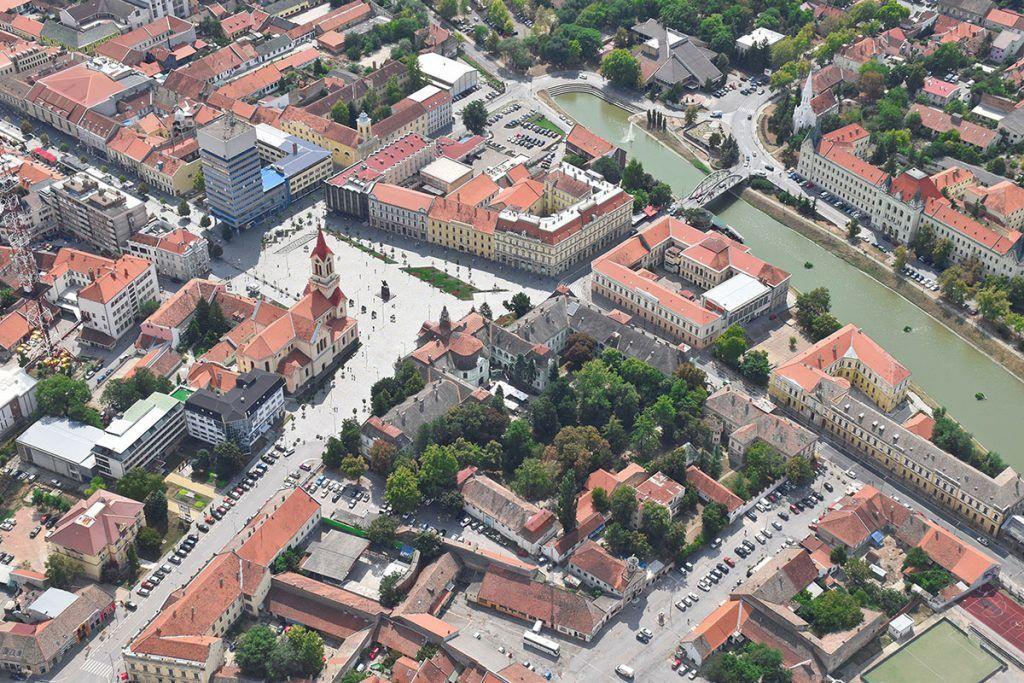 Slika grada Zrenjanina - Harmonija Zrenjanin